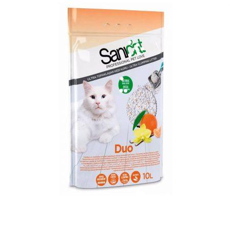 خاک گربه سانی کت معطر نارگیلی و وانیل با جذب بالا 10 لیتر