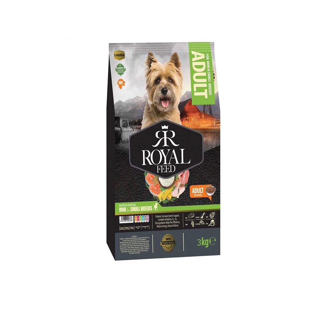غذای خشک رویال فید مخصوص سگ های بالغ نژاد کوچک مدل 3 کیلوگرمی