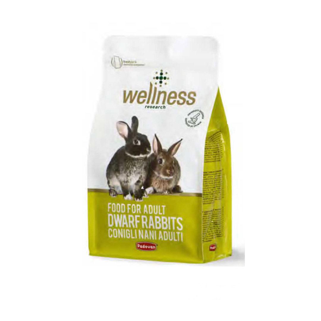 غذای سوپرپرمیوم خرگوش بالغ پادووان 1 کیلوگرمی