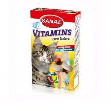 قرص مخمر گربه به همراه ویتامین سانال