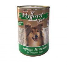 کنسرو سگ مای لرد با طعم گوشت شکار و کدو تنبل ۸۰۰ گرمی