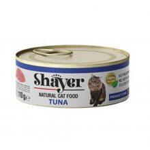 کنسرو نچرال شایر با طعم تن ماهی مخصوص گربه 110 گرمی