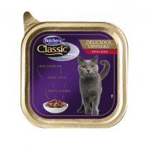 کنسرو گربه بوچرز مخصوص گربه بد غذا با طعم گوشت گاو در سوپ(100گرم)