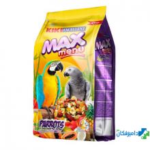 غذای خشک کی کی مکس برای طوطی بزرگ نژاد طوطی خاکستری و آمازون مقدار 1 کیلوگرم