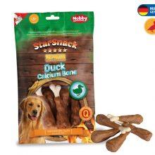 تشویقی میله ای مخصوص سگ متوسط سگ نوبی با دورپیچ اردک، 70 گرمی