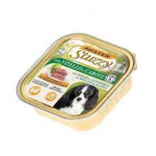 کنسرو سگ استوزی بالغ گوساله و هویج با قابلیت هضم بالا 150 گرم