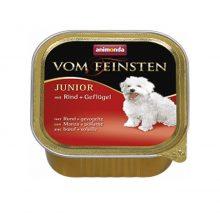 خوراک کاسهای ووم فیستن توله سگ حاوی گوشت گاو