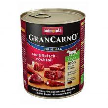 غذای تر سگ بالغ آنیموندا سری گرن کارنو اوریجینال با طعم گوشت خالص گاو کنسرو 800 گرمی