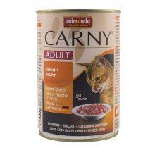 کنسرو کارنی آنیموندا حاوی مخصوص گربه بالغ بیف و مرغ