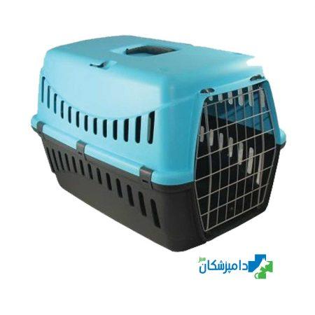 باکس حمل سگ و گربه درب فلزی