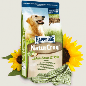 غذای سگ هپی داگ طعم گوشت بره و برنج 1کیلو گرم
