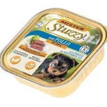 خوراک کاسه ای پته استوزی با طعم مرغ مخصوص توله سگ 150 گرمی
