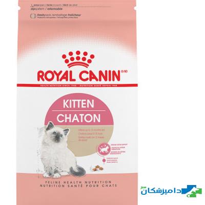 غذای خشک رویال کنین بچه گربه 4 تا 12 ماه 2 کیلو